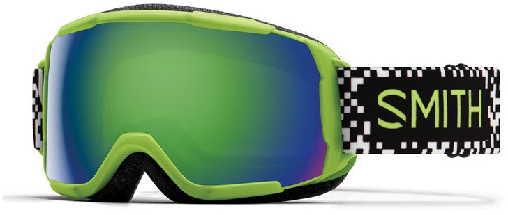 2019 Smith Grom Flash Game Over JR Goggle w/ CP Everyday Green Mirror Lens