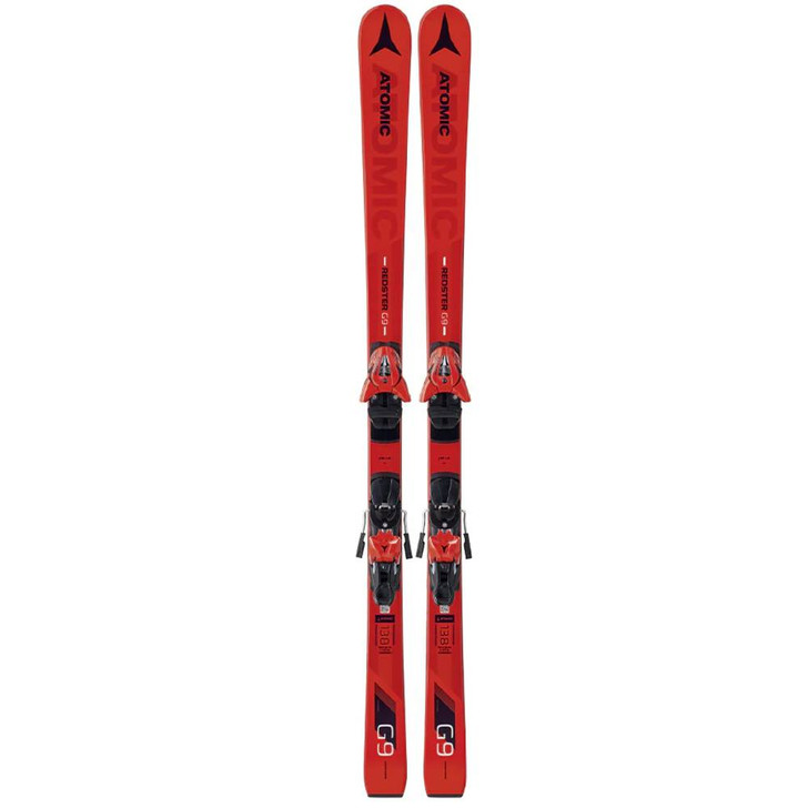 2019 Atomic Redster G9 FIS J-Rp JR Skis w/ L7 Bindings