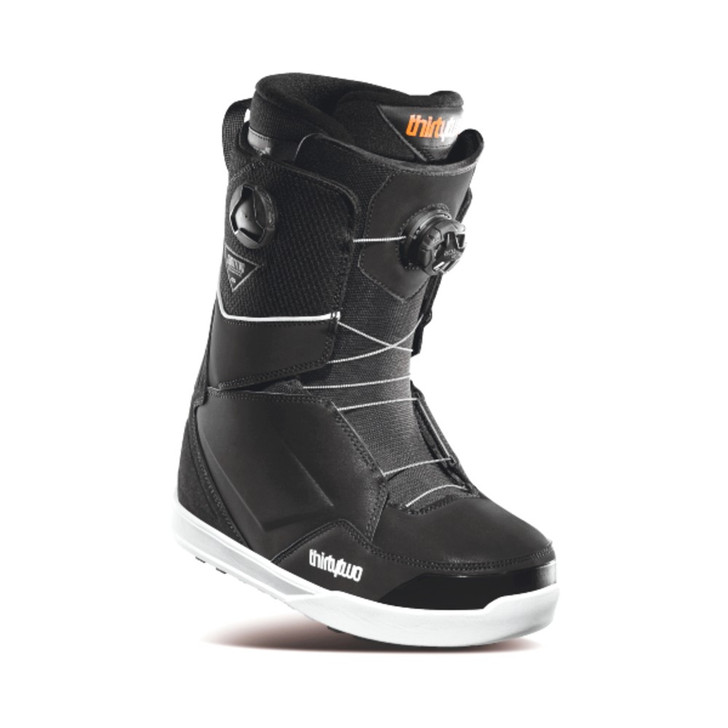 2021 ThirtyTwo Lashed Double BOA Mens Black Snowboard Boots