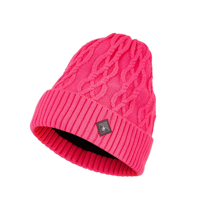 2021 Spyder Cable Knit Womens Hat