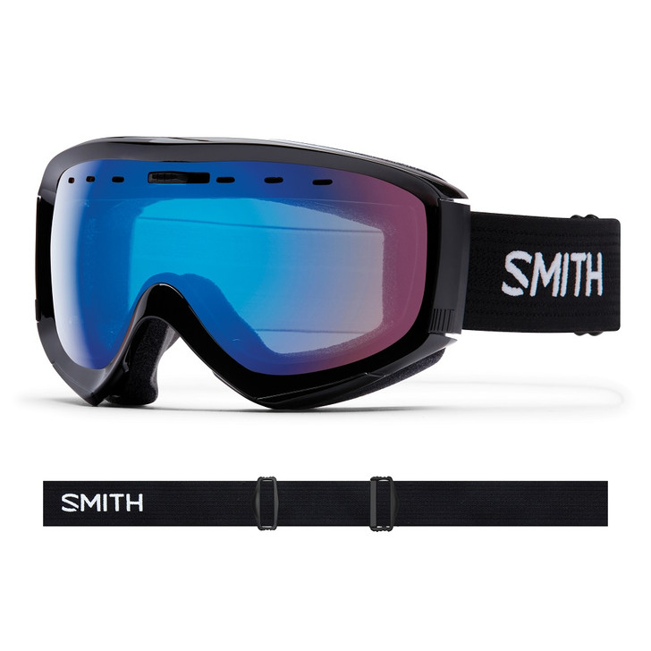2021 Smith Prophecy OTG Black Goggle w/ CP Storm Rose Flash Lens