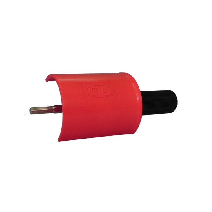 KUU Handle for Roto Brush - with safety COVER Holds 100mm brushes