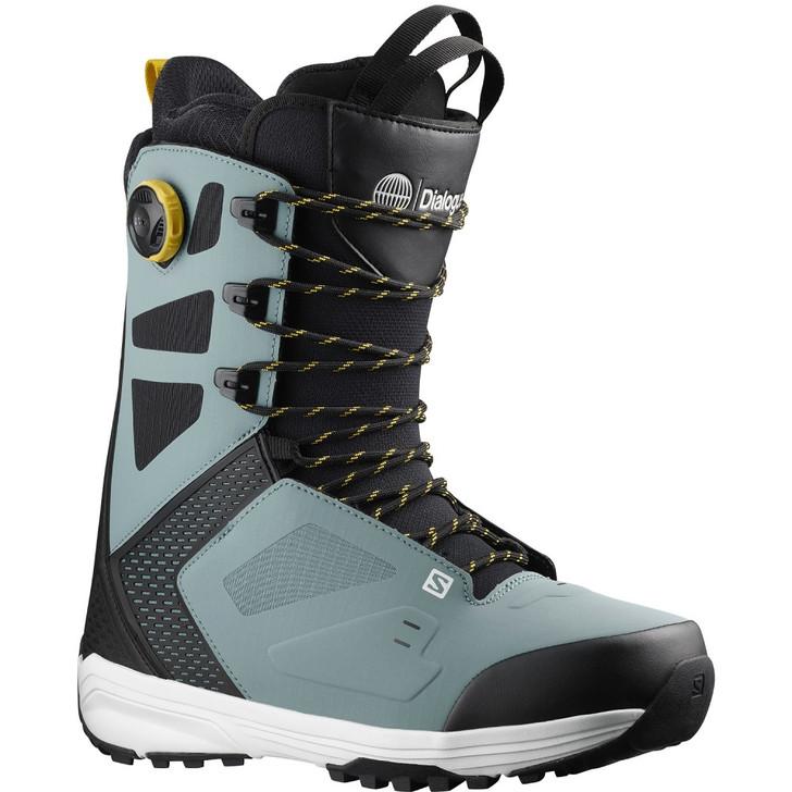 2022 Salomon Dialogue Lace SJ BOA Mens Trooper Snowboard Boots