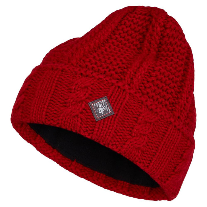 2022 Spyder Cable Knit Womens Hat