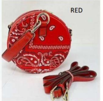 Taylor B Red Bag