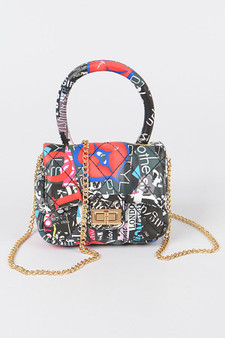 Happy Girls Mini Letter bag