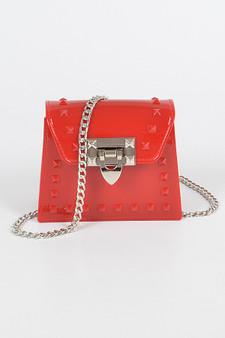 Toya Jelly Mini Crossbody bag - Red