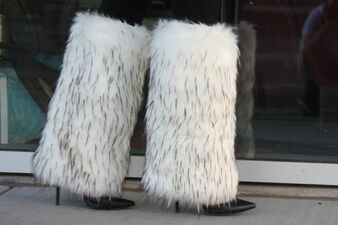 Artic Fox Below The knee leg warmer