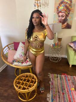 Gold Rush swimsuit