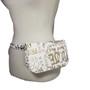 Graffiti Waist belt bag - White