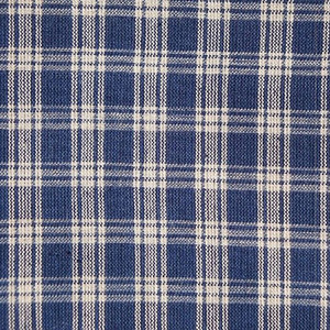 Sensible Blue Plaid Weighted Blanket