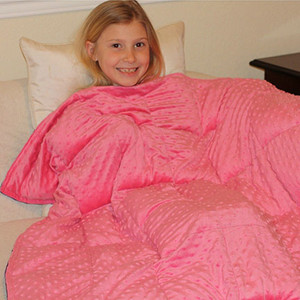 Girls Minky Weighted Blanket