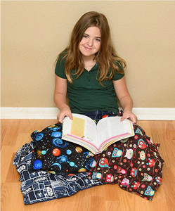 Grab Bag Weighted Lap Pad - 2 Sizes, 100% Cotton