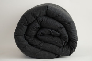 Black Marble Cotton Weighted Blanket