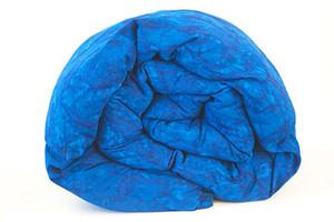Cobalt blue ocean waves Weighted Blanket