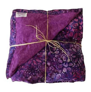Purple Crush Batik Weighted blanket