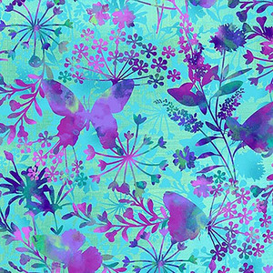 Butterfly Meadow Weighted Blanket