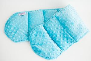 Ocean Blue Minky Weighted Shoulder Wrap 3 lbs