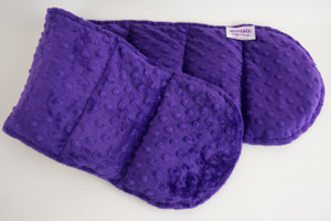Purple Minky Weighted Shoulder Wrap 3 lbs