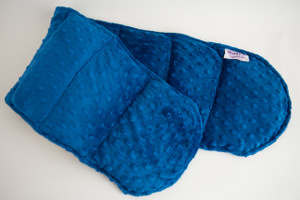 Royal Blue Minky Weighted Shoulder Wrap 3 lbs