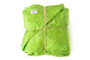 Lime Green Weighted Blanket