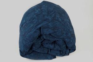 Indigo Ocean Waves Weighted blanket