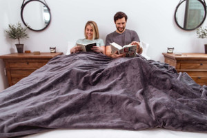 Organic Weighted Blanket & Duvet Cover