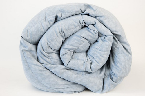 Grey Marble Cotton Weighted Blanket