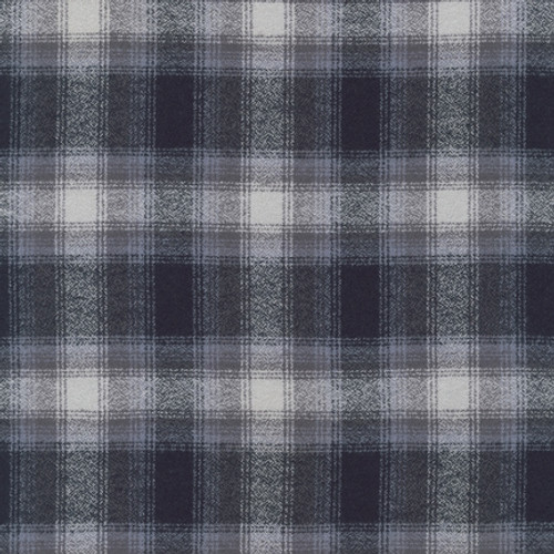 "Grey Plaid Cotton Weighted blanket IN STOCK 42X72"" 12, 15, 18 &20 lbs"