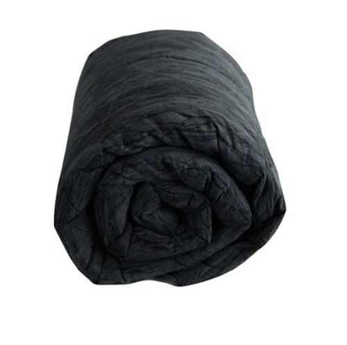 Black Cracked Ice Weighted Blanket