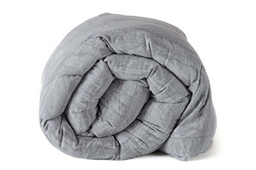 Light Gray Cracked Ice weighted Blanket