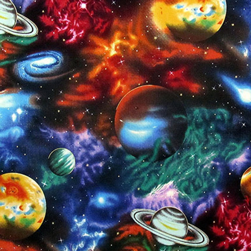 Planets and Nebula Weighted Blanket