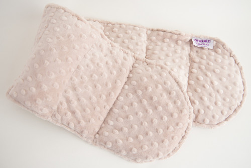 Latte Minky Weighted Shoulder Wrap 3 lbs