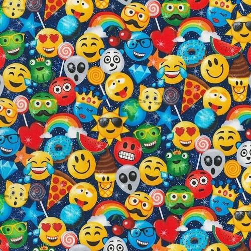 Emoji weighted blanket