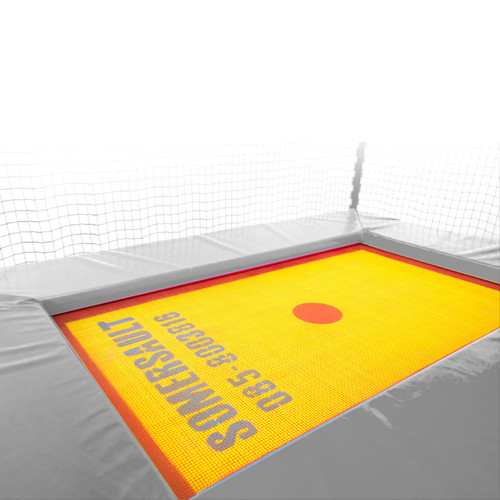 Somersault replacement trampoline bed