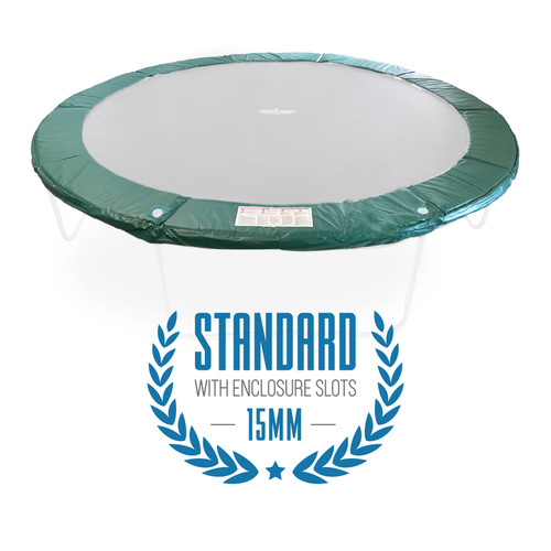 10ft round frame pads