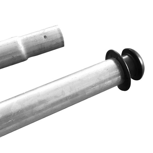 Replacement pole for safety enclosure for SuperFlyer
