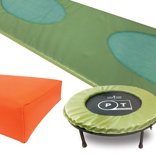 Trampoline frame pads made to order