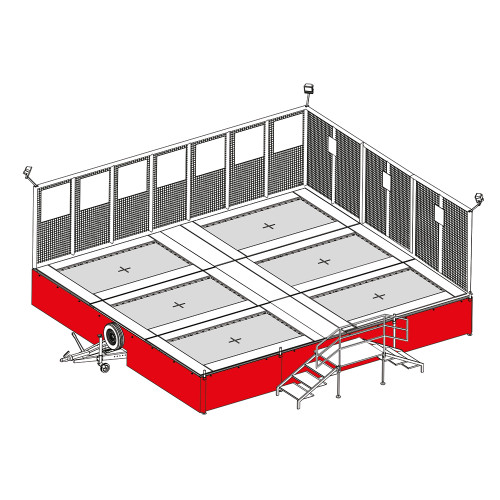 replacement pvc wrap for traila tramp trampoline