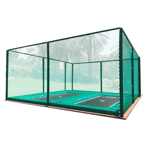 2 bed somersault trampoline system