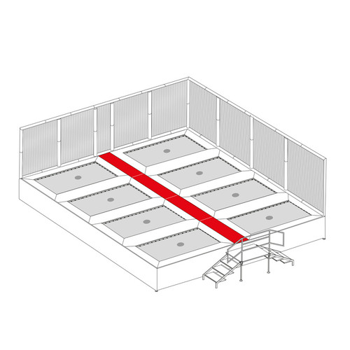replacement walkway pads for Somersault System