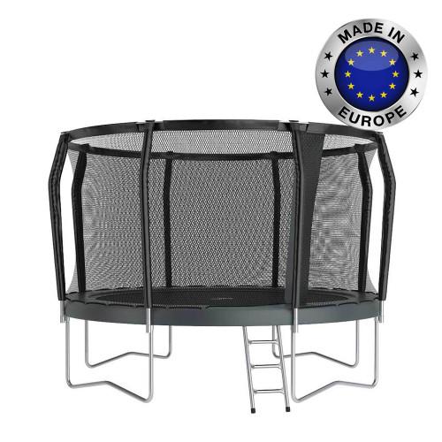 12ft Akrobat Orbit Pro garden trampoline