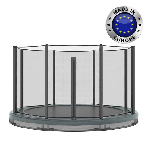 14ft Akrobat in-ground trampoline