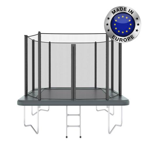 Orbit 10ft x 6ft rectangular garden trampoline