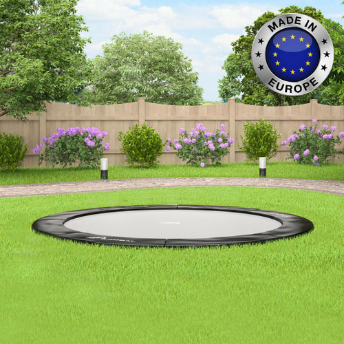 10ft Primus Flat to the ground trampoline