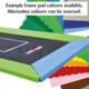 Choose your trampoline pad colour