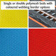 bespoke polymesh jumping mat for trampolines