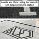 Bespoke 2-string trampoline bed with custom branding