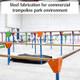 Bespoke trampoline steel fabrication