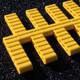 Yellow jump mat